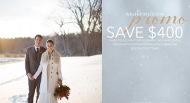 Rochester Winter Wedding Promotion!