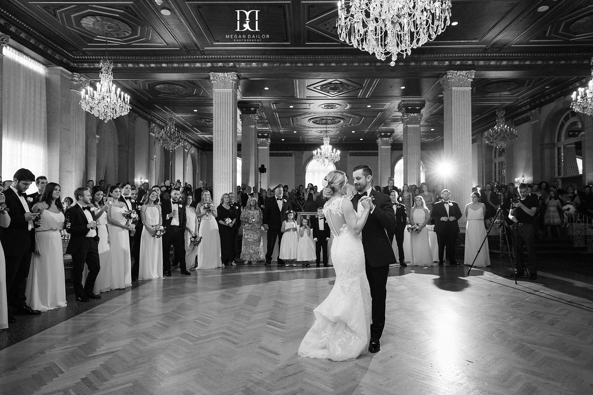 Hotel Syracuse Wedding Kelly Dan Megan Dailor Photographer